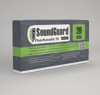 SoundGuard FloorAcoustic 70 (1000x600x20mm, 6m2) Минеральная плита
